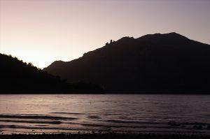See in Morgendämmerung – Impressionen der Südargentinienreise