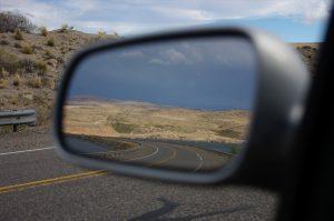 Straße im Spiegel – Impressionen der Südargentinienreise