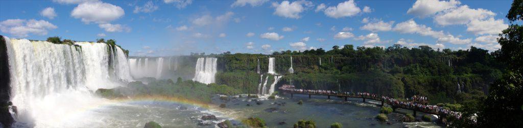 Die Wasserfälle zwischen den Grenzen.