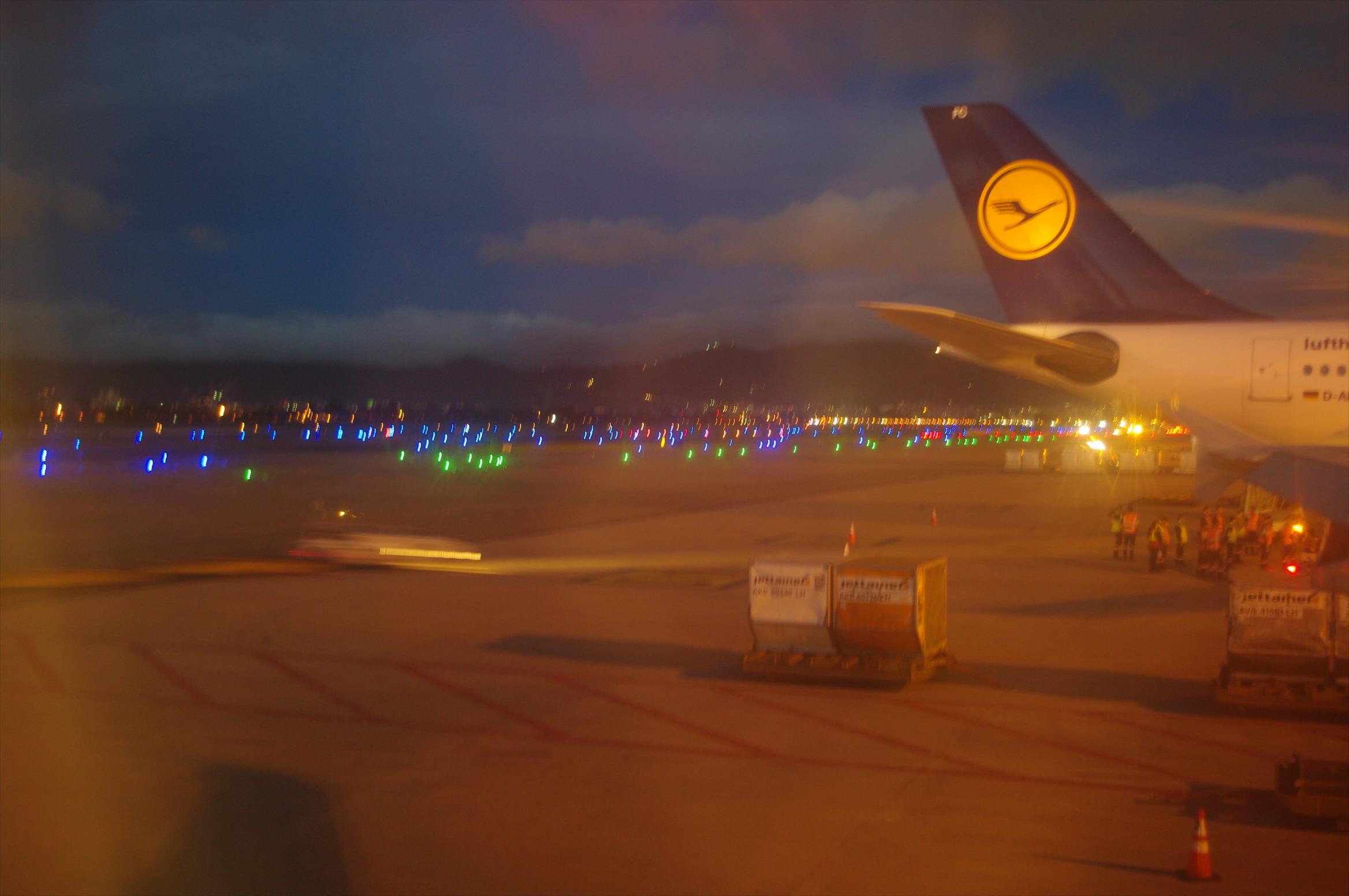 Abschied und WIederkehr – Flughafen Bogota